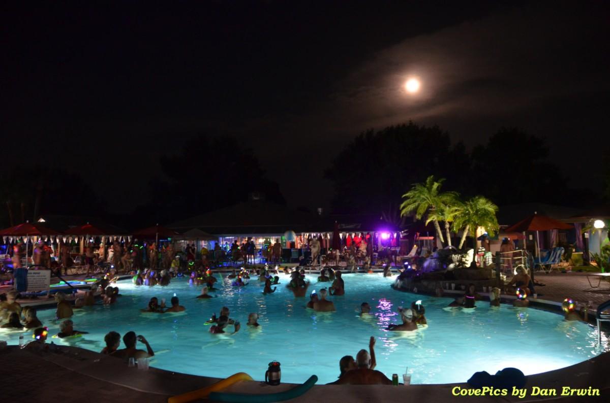 Heated Swimming Pools - Cypress Cove Nudist Resort