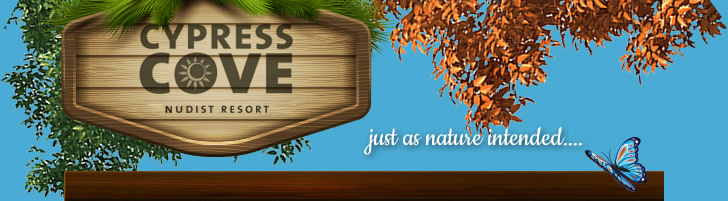 Cypress Cove - as nature intended...
